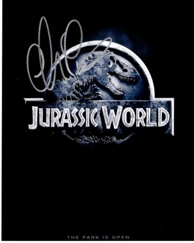Chris Pratt Signed - Autographed Jurrassic World 8x10 inch Photo - Guaranteed to pass PSA or JSA - Parks and Recreation Actor