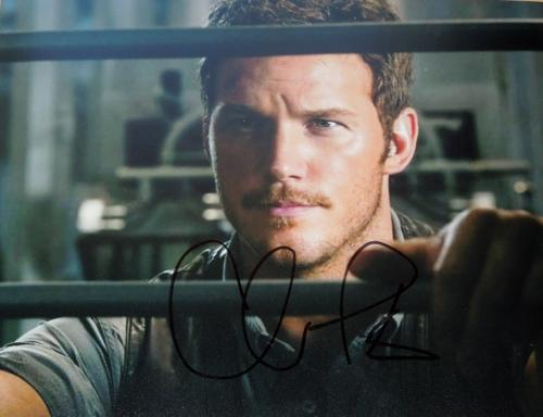 Chris Pratt Signed - Autographed Jurrassic World 8x10 inch Photo - Guaranteed to pass BAS - Parks and Recreation Actor