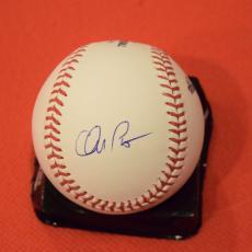 Chris Pratt Signed Autographed MLB Baseball Moneyball Guardians of the Galaxy