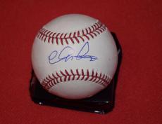 Chris Pratt Signed Autographed MLB Baseball Moneyball Guardians of the Galaxy  B