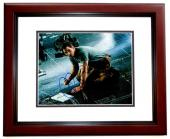 Chris Pratt Signed - Autographed Passengers 8x10 inch Photo - MAHOGANY CUSTOM FRAME - Guaranteed to pass PSA or JSA