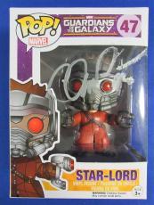Chris Pratt Signed Funko Pop Guardians of the Galaxy Star-Lord PSA/DNA