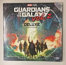 Chris Pratt Signed Guardians Of The Galaxy Vol. 2 Deluxe Record Bas Auto Coa