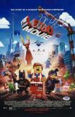Chris Pratt Signed The Lego Movie 11x17 Poster Psa Coa Y58353
