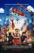 Chris Pratt Signed The Lego Movie 11x17 Poster Psa Coa Y58353