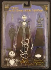 "CHRIS SARANDON signed ""Jack Skellington"" action Figure-NEW Unopened- JSA"