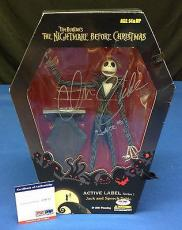 Chris Sarandon Signed Jack Skellington & Speech Table Figure - PSA/DNA # Z29722