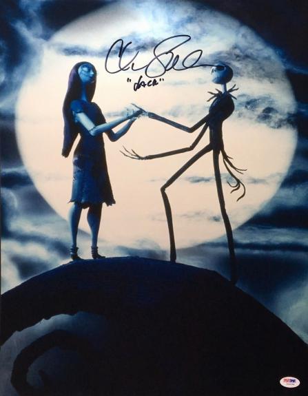 "Chris Sarandon Signed Nightmare Before Christmas 16x20 Photo ""Jack"" PSA Y10134"