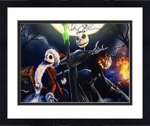 "Chris Sarandon Signed Nightmare Before Christmas 16x20 Photo ""Jack"" PSA Y10135"