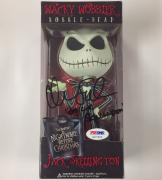 "JACK SKELLINGTON"" voice CHRIS SARANDON signed Bobblehead ~PSA + Beckett BAS COA"