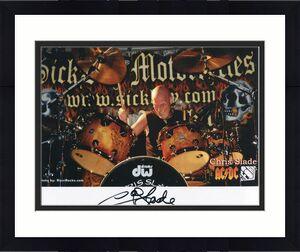 Signed Slade Photo - 8x10