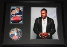 Chris Tucker Signed Framed 18x24 Rush Hour DVD & Photo Display