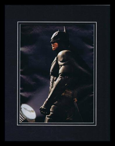 Christian Bale 2008 Dark Knight Batman Framed 11x14 Photo Display