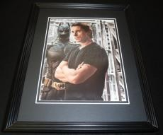 Christian Bale 2012 Batman Bruce Wayne Dark Knight Framed 11x14 Photo Display