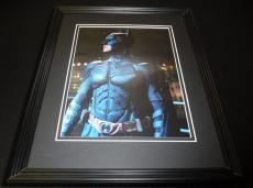 Christian Bale 2012 Batman Dark Knight Framed 11x14 Photo Display