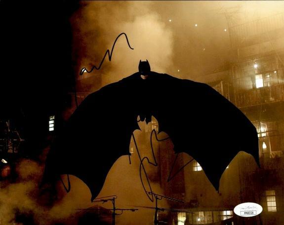 """Christian Bale  Actor """"Batman""""  Signed/Autographed 8x10 Photo JSA 161371"""