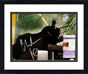 Christian Bale Autographed 11x14 Photo Picture The Dark Knight Batman Jsa Coa