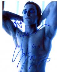 Christian Bale Autographed 8x10 American Psycho Photo AFTAL
