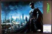 Christian Bale Autographed Signed 11x14 Photo Picture Batman Beckett Coa