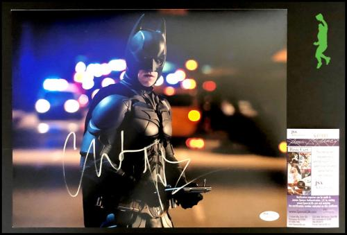 Christian Bale Autographed Signed 11x14 Photo Picture Batman Dark Knight Jsa Coa
