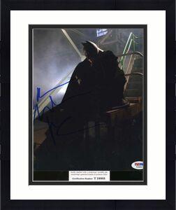 Christian Bale  Batman Psa Dna Coa Hand Signed 8x10 Photo Autograph