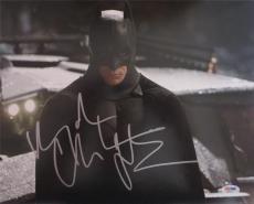 Christian Bale Batman Signed Autographed 11x14 Photo Psa/dna  S19217