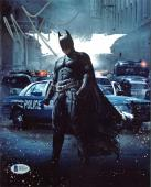Christian Bale Batman The Dark Knight Rises Signed 8x10 Photo BAS #D05697