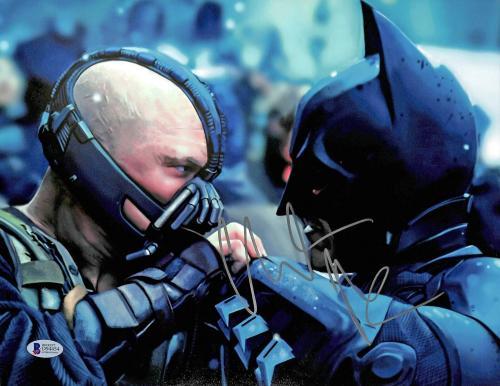 Christian Bale Batman The Dark Knight Signed 11x14 Photo BAS #D94454