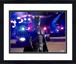 Christian Bale Batman The Dark Knight Signed 11x14 Photo BAS #F84581