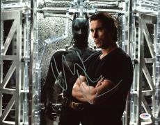 Christian Bale Batman The Dark Knight Signed 11X14 Photo PSA #Y44915