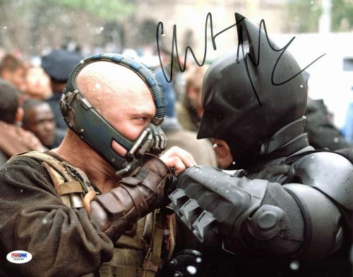 Christian Bale Batman The Dark Knight Signed 11x14 Photo PSA #Y44938