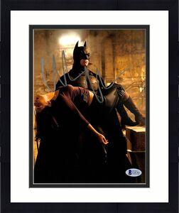 Christian Bale Batman The Dark Knight Signed 8x10 Photo BAS #E20785
