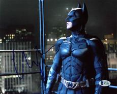 Christian Bale Batman The Dark Knight Signed 8X10 Photo BAS #B71581