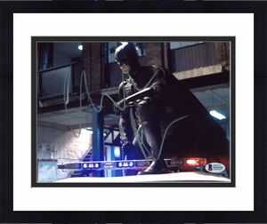 Christian Bale Batman The Dark Knight Signed 8x10 Photo BAS #D05690