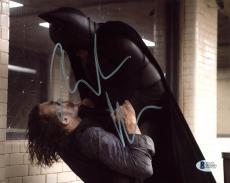 Christian Bale Batman The Dark Knight Signed 8x10 Photo BAS #D05691