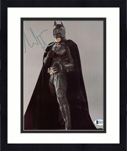 Christian Bale Batman The Dark Knight Signed 8x10 Photo BAS #D05700