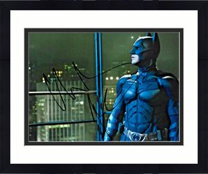 Christian Bale Batman The Dark Knight Signed Auto 8x10 Photo DG COA (A)
