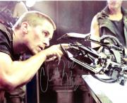 """CHRISTIAN BALE (MOVIE ACTOR) of """"AMERICAN PSYCHO"""" and """"EMPIRE of the SUN"""" Signed 10x8 Color Photo"""