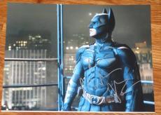 Christian Bale Signed 11x14 Photo Autograph The Dark Knight Rises Coa Batman A
