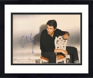Christian Bale Signed 11x14 Photo Batman Dark Knight Beckett Bas Autograph Auto