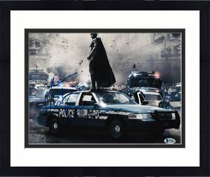 Christian Bale Signed 11x14 Photo Batman Dark Knight Beckett Bas Autograph H