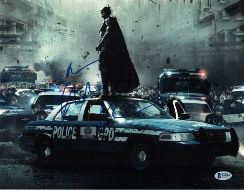 Christian Bale Signed 11x14 Photo Batman Dark Knight Beckett Bas Autograph I