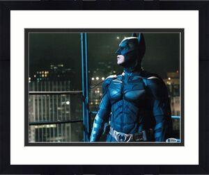 Christian Bale Signed 11x14 Photo Batman Dark Knight Beckett Bas Autograph J