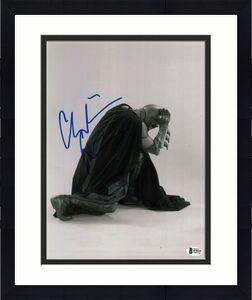 Christian Bale Signed 11x14 Photo Batman Dark Knight Beckett Bas Autograph O