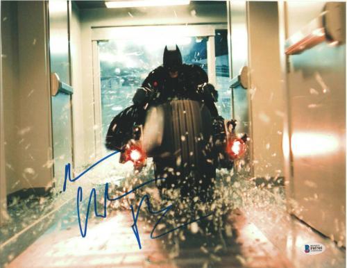 Christian Bale Signed 11x14 Photo Batman Dark Knight Beckett Bas Autograph U