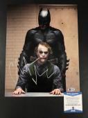 Christian Bale Signed 11x14 Photo Batman The Joker Authentic Autograph Beckett