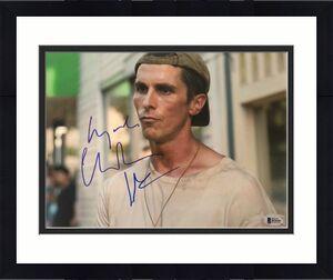 Christian Bale Signed 11x14 Photo The Fighter Batman Beckett Bas Autograph Auto
