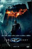 Christian Bale signed 12x18 Batman The Dark Knight Movie Poster- Beckett Holo #C44266