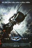 Christian Bale Signed 27x40 Dark Knight Full Movie Poster BAS E36329
