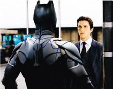 Christian Bale Signed 8x10 Photo Autograph The Dark Knight Rises Coa A